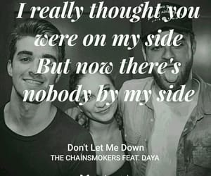 dont let me down, Lyrics, and music image