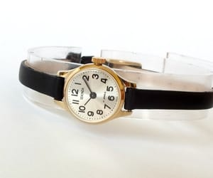 etsy, montre femme, and leather watch image