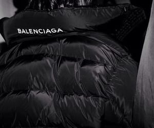 Balenciaga, black, and fashion image