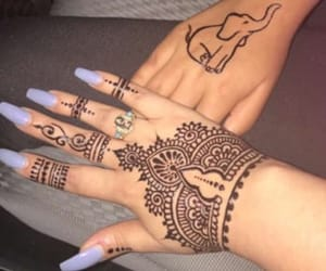 art, henna, and inspiration image
