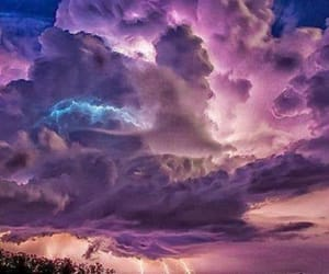 nature, clouds, and storm image