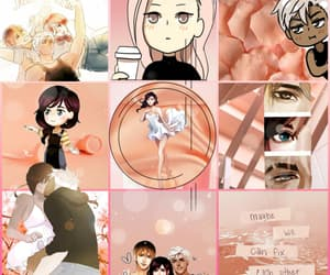 aesthetic, peach, and lament image