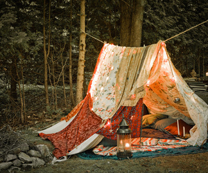 camping, dreamy, and pretty image
