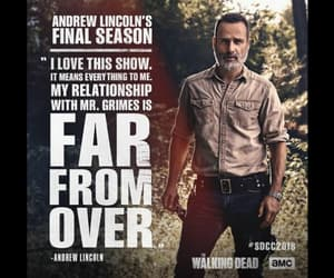 the walking dead and andrew lincon image