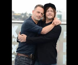 norman reedus, the walking dead, and andrew lincon image