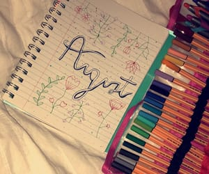 August, colour, and fun image