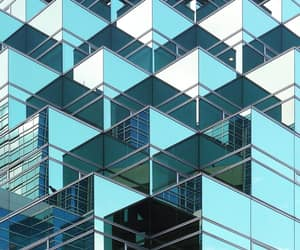 architecture, turquoise, and blue image