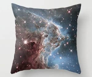 space throw pillow, space pillow, and outer spacedecor image