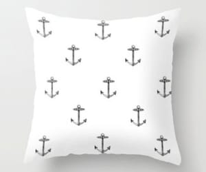 black and white, vintage, and throw pillow image