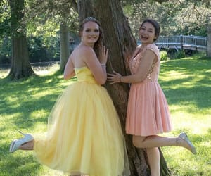 dresses, Prom, and friendship image