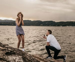 boyfriend, proposing, and cutestcouple image