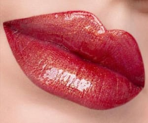 cosmetic, gloss, and lips image