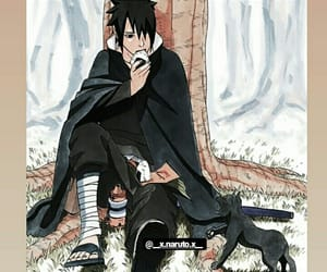 anime, sasuke, and wallpaper image