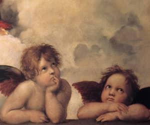 angels, art, and rafael sanzio image
