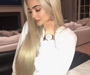 kylie jenner, kylie, and blonde image