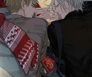 christmas, yaoi, and cute image
