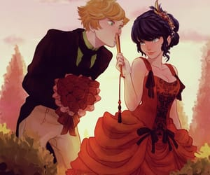 Adrien, marinette, and love image