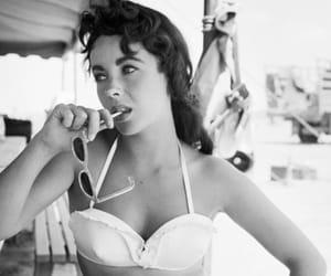 aesthetic, Elizabeth Taylor, and vintage image