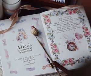 alice, alice in wonderland, and books image
