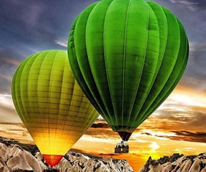 adventure, balloons, and cappadocia image