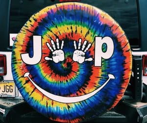 car, jeep, and colorful image