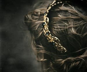 crown, Queen, and hair image