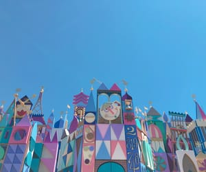 disneyland and it's a small world image