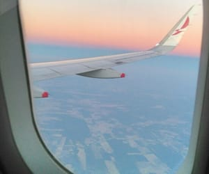 aesthetic, alternative, and airplane image
