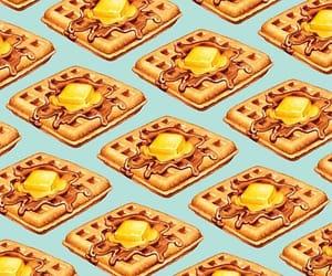 anime, waffle, and wallpaper image