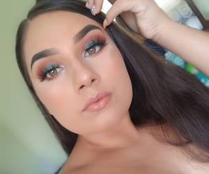 beauty, eyeshadow, and highlight image