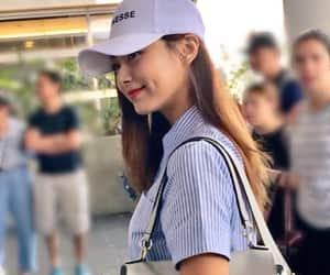 beautiful, cap, and dimple image