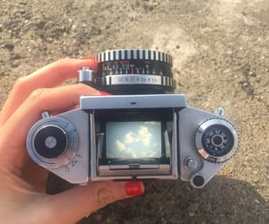 camera, cloud, and vintage image