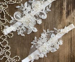 etsy, rustic wedding, and wedding garter image