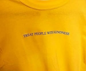 yellow, aesthetic, and kindness image
