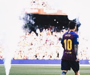 Barca, messi, and champs image