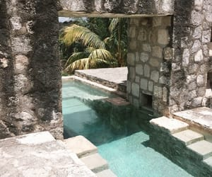 hotel, mexico, and pool image