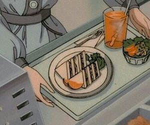 anime, aesthetic, and food image