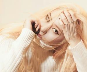 fashion, blonde, and pastel image