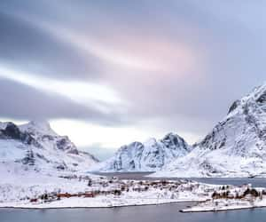 cold, winter, and landscape image