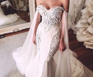 beautiful, dress, and elegant image
