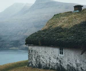 beautiful, cottage, and nature image