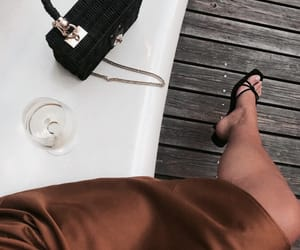 chic, drinks, and style image