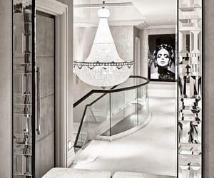 luxury, interior, and mirror image