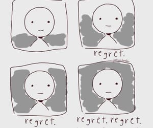 feelings and regret image