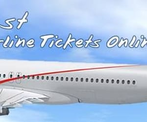 cheap air flights, airline flight deals, and air ticket booking image