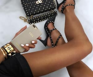 beautiful, black, and outfit image