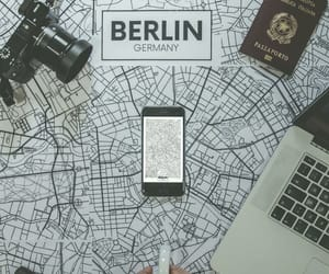 berlin, camera, and cup image