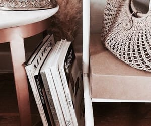 books and rosegold image