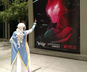 Voltron and princess allura image