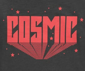 cosmic, aesthetic, and red image